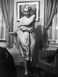 Ex-Burlesque Stripper June St Clair Showing How to Undress  Allen Gilbert School of Undressing