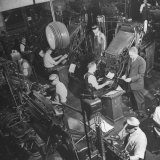 Overall Shot of the 44 Linotype Machines in the Government Printing Office
