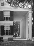 Exterior View of the House of Revolutionary War General Philip Schuyler  Hudson River Valley