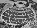 Aerial View of the Hollywood Bowl Amphitheater