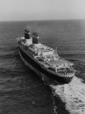 Liner United States Steaming across the Atlantic