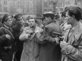 Hungarian Freedom Fighters During Revolution Against Soviet-Backed Regime
