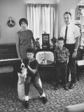 American Family Critical of Pres Lyndon B Johnson's Vietnam Policy