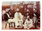 Group Portrait of Civilian Scientific Staff of HMS Challenger