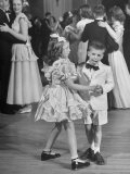Sharon Queeny Dancing with Charles La Fond  Annual Ball Given by Dancing Teacher Annie Ward Foster