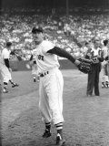Ted Williams Throwing Baseball