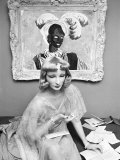 Portrait of Mannequin Cynthia  Created for Saks Fifth Avenue by Mannequin Artist Lester Gabba