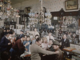 Crystal Bar  Virginia City  Nevada  1945