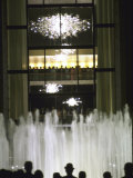 Plaza Outside the New Metropolitan Opera House  Opening Night at Lincoln Center