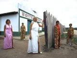 Group of Local Prostitutes Who Entertain Men Working on Transamazon Highway