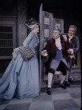 School for Scandal  Geraldine McEwan  Ralph Richardson and John Gielgud