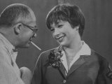 Movie Director Billy Wilder with Actress Shirley MacLaine on Set During Filming of The Apartment
