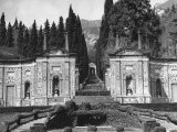 View of the Formal Garden of Villa D'Este