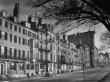 Houses on Beacon Street