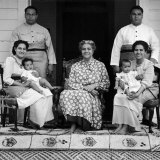 Portrait of Queen Salote Tubou And Her Family