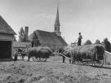 Farmers Paying Tithes with Hay