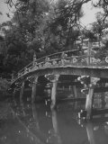 Taikobashi Bridge in the Kyoto Imperial Gardens