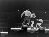 Joe Louis  Negro Boxer Fighting Perry