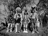 Otoe Tribe in Traditional Clothing  During Presentation of Jefferson's Letter to Princeton