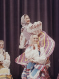 Russian Moiseyev Dancers in New York at Metropolitan Opera House