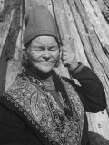 Elderly Lapp Woman