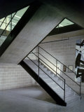 Stairway in Unidentified Building Designed by Mies Van Der Rohe Chicago  Illinois 1956