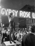 Gypsy Rose Lee  Burlesque Dancer  Carnival Queen