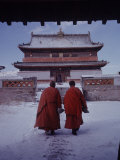 Outer Mongolia  Hidden Land Where Russia and China Square Off  Mongolian Buddhist Monastary