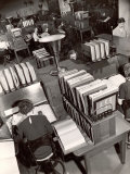 Telephone Operators Consulting Local and Long Distance Books and Directories  New York Telephone Co
