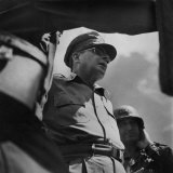 Gen Douglas MacArthur During Campaign to Retake the Philippines from Occupying Japanese Forces