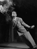 Magician Herbert Easley's Angle on the Art of Cigarette Smoking That He Learned from an Old Clown