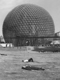 Buckminster Fuller's Geodesic Dome for Us Pavilion at Expo 67