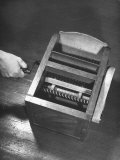 Close-Up of Patent Model of Cotton Gin Invented by Eli Whitney in 1794