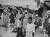Arabs Shopping in the Village