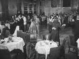 Men and Women Dancing to a Band in the Rainbow Room