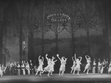 "Ballet Dancers Performing ""Cinderella"" on Stage at the Bolshoi Theater"
