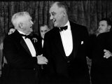 Pres Franklin D Roosevelt and Vice Pres John Nance Garner Attending the Jackson Day Dinner