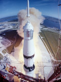 Apollo 15 Lifting Off Fr Kennedy Space Center