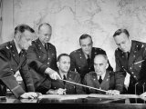 Brig Gen Dwight D Eisenhower Meeting with War Plans Division