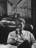 Attorney General Robert F Kennedy  in His Office