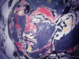 Detail from a Painting by Jackson Pollock