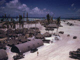 Airstrip on Tarawa During WWII