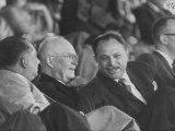 President Dwight D Eisenhower Talking to Gen Mohamed A Khan