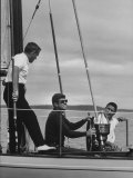 Pres John F Kennedy Sailing