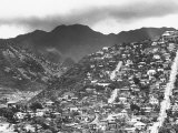 Housing on Hillsides of Honolulu