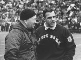 Notre Dame Coach Ara Parseghian