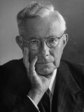 Portrait of Dr Paul Tillich  Theology Professor at Harvard University