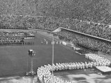 Opening Ceremonies at 1952 Olympic Games