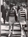 Twins Rosie and Susie Young Wearing Short Fashions
