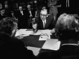 Joseph R Mccarthy Vigerously Making His Point Clear at the Senate Judiciary Committee Hearing